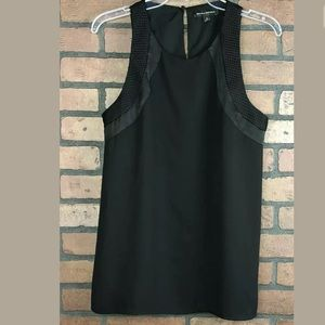 Banana Republic Black Tunic Top Medium.